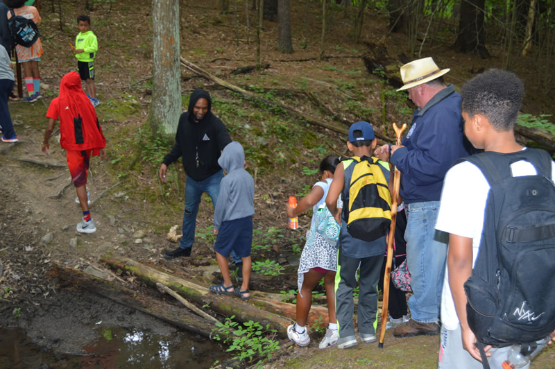 Boys and Girls Club hikers enjoyed a day at Lawson Lake